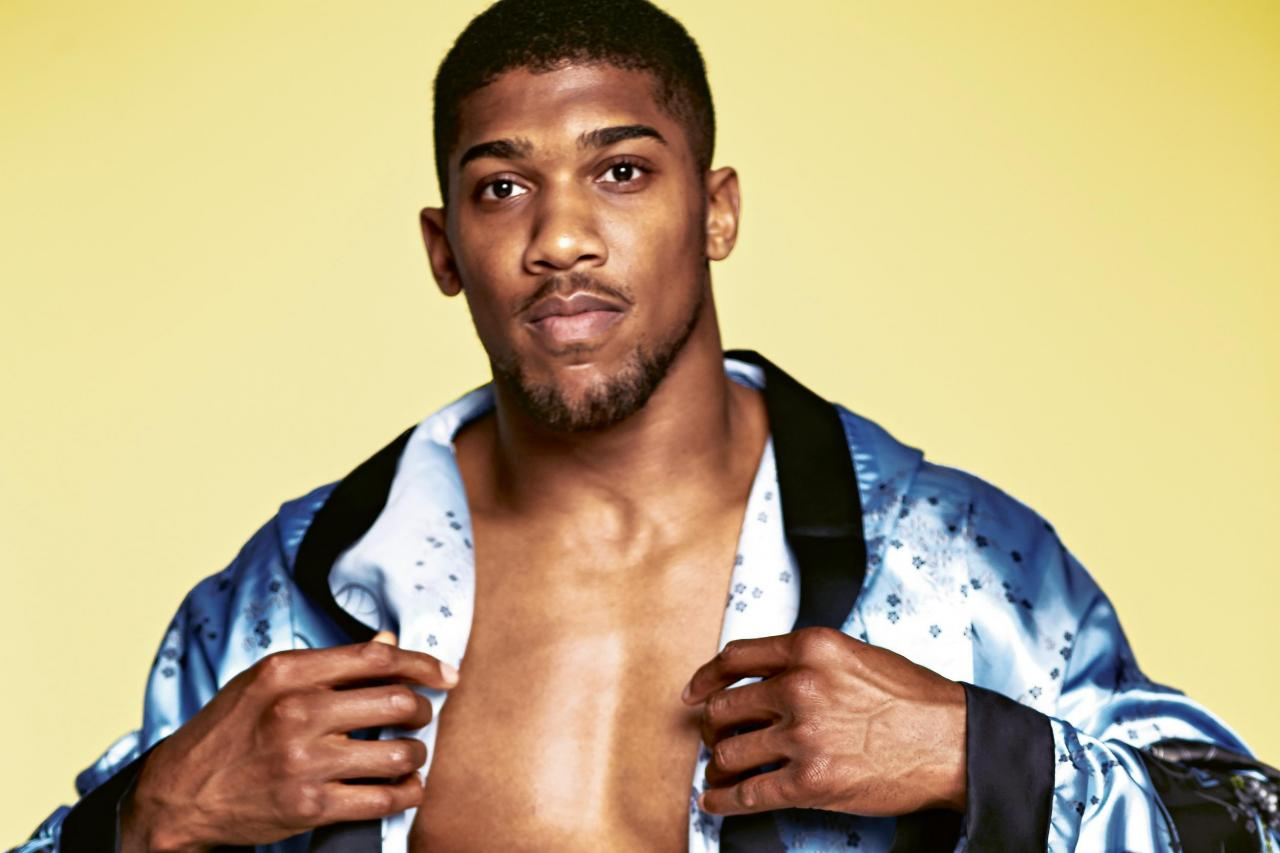 """The secret to my success is pounded yam and egusi"" – Boxer, Anthony Joshua"