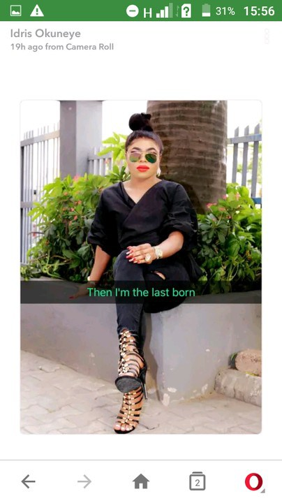 See photos of Bobrisky's Family; mother, brother and sisters