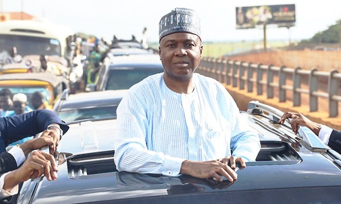 2019 Election: Saraki officially declares for presidency; says the youths asked him to run