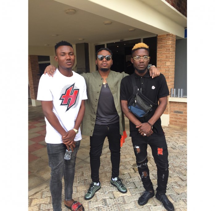 Olamide signs two new guys to YBNL